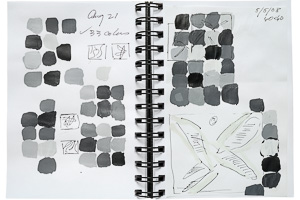 "Studies for: ""42 Grays"" and ""April 8"""